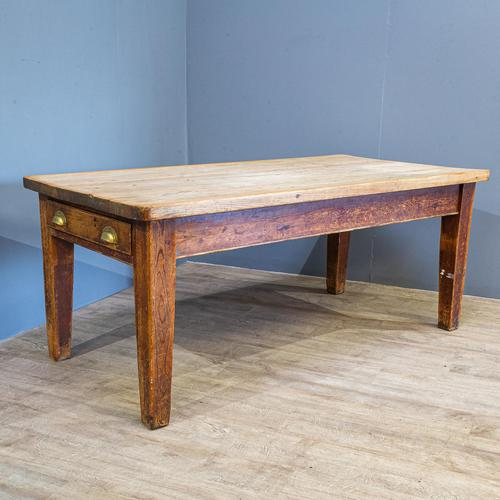 Pine Farmhouse Dining Table (1 of 5)