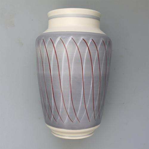 Vintage Retro Contemporary Poole Pottery Freeform Vase by Alfred Read c.1950 (1 of 4)
