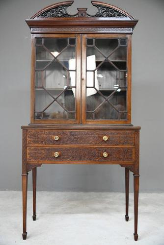 Chippendale Style Mahogany Cabinet 8937508 (1 of 13)