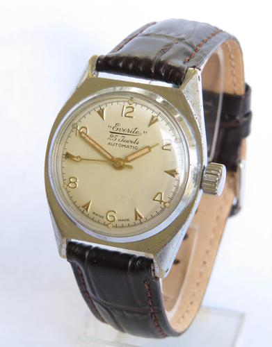 Gents 1950s Everite Automatic Wrist Watch (1 of 5)