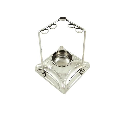 Antique Sterling Silver Hat Pin Stand 1922 (1 of 8)