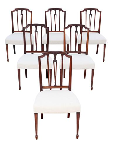 Set of 6 19th Century mahogany dining chairs Baker of Bath (1 of 11)
