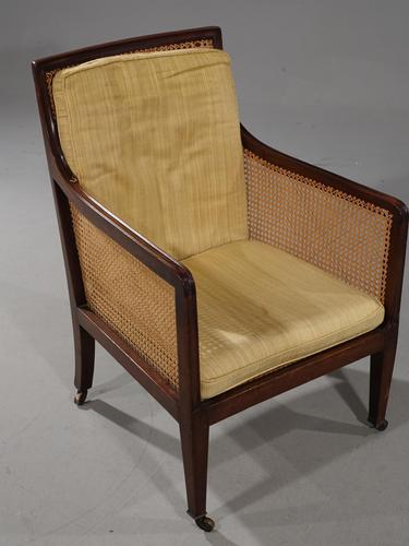 A Very Good Regency Period Bergère Armchair (1 of 4)
