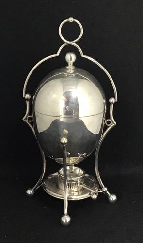 Late Victorian Silver Plated Egg Coddler (1 of 4)
