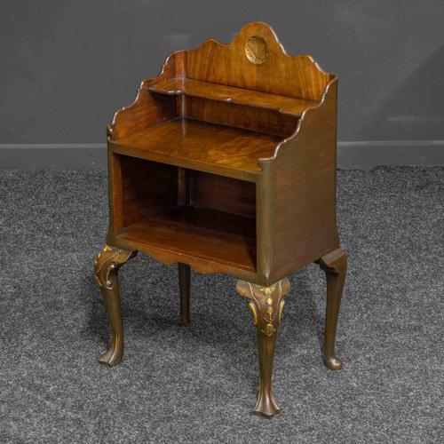 Early 20th Century Small Mahogany Bookstand (1 of 7)