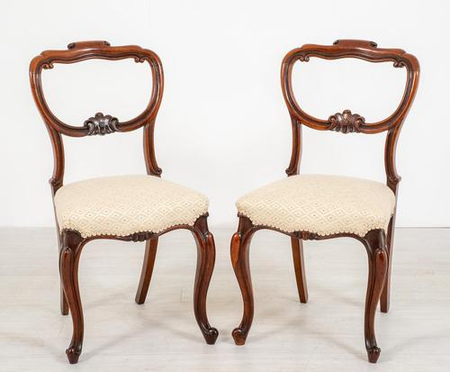 Pretty Pair of Rosewood Side Chairs (1 of 7)