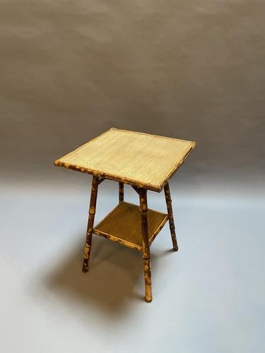 Victorian Bamboo Occasional Table (1 of 7)