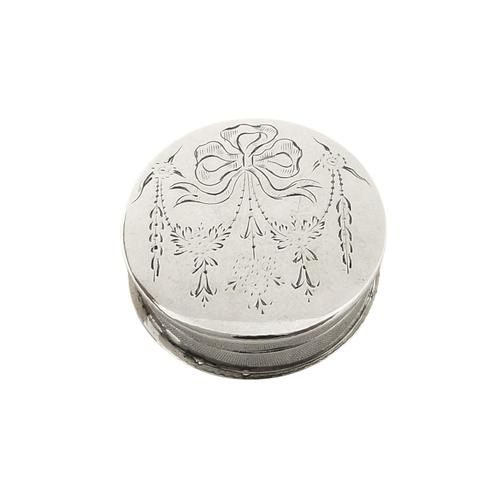 Antique Sterling Silver Pill Box 1912 (1 of 8)