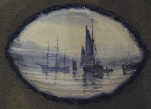 Royal Crown Derby Plaque by Dean 1901 (1 of 1)