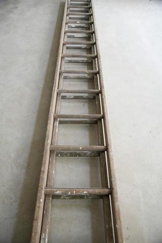 Wooden Extending Double Ladder (1 of 9)