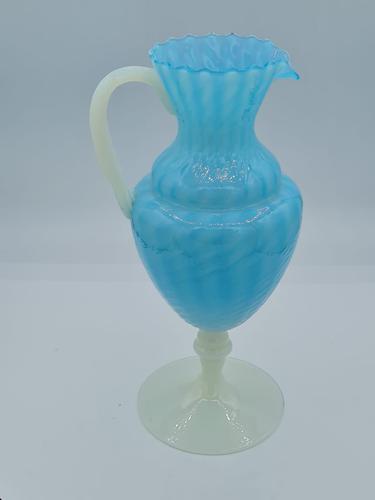 Antique Opaline Jug in Murano Glass (1 of 6)