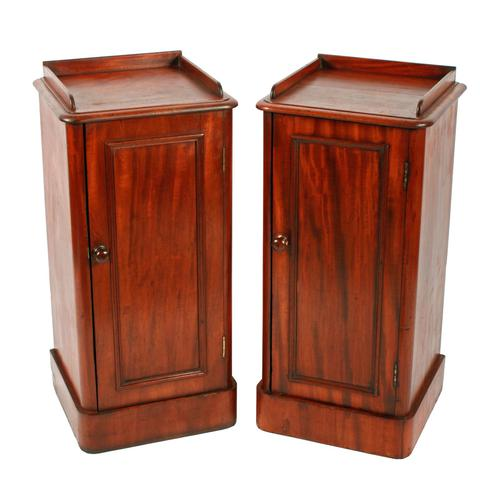 19th Century Bedside Cabinets (1 of 8)