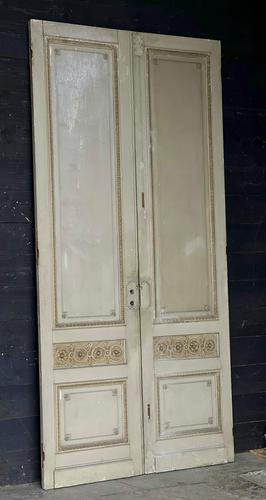 Lovely Pair of 19th Century French Chateau Doors (1 of 17)