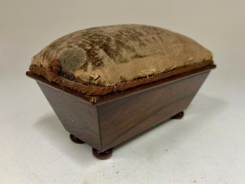 Antique Rosewood Sewing Box c.1830 (1 of 9)