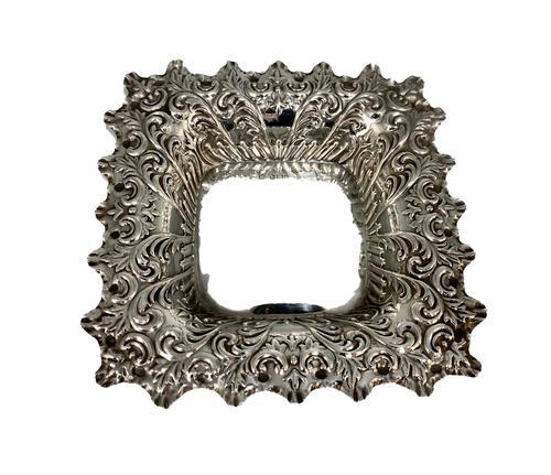 Edwardian Sterling Silver Pin Tray Sheffield c.1901 (1 of 5)