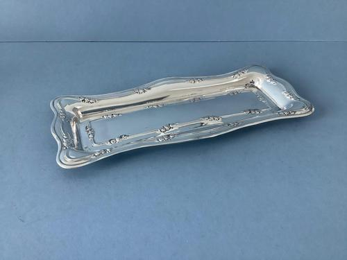 Antique Silver Art Nouveau Tray (1 of 4)