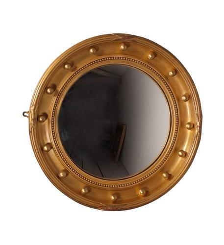 Round Convex Mirror (1 of 3)
