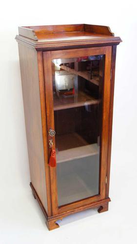 Edwardian Mahogany Glazed Pier Cabinet (1 of 16)