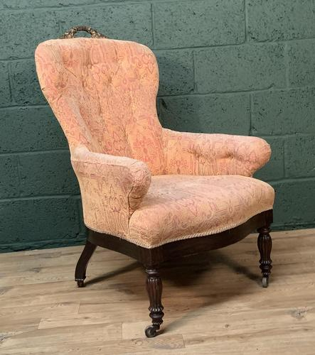 French Louis Philippe Rosewood Armchair (1 of 10)