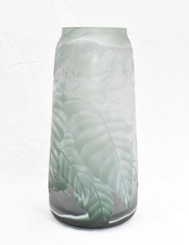 Art Nouveau Galle Glass Vase Urn 1930s (1 of 12)