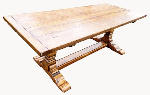 A Superb Refectory Table in Cherrywood (1 of 4)