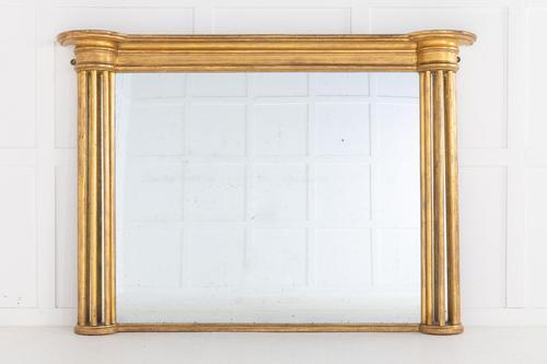 19th Century Regency Giltwood Overmantel Mirror (1 of 5)