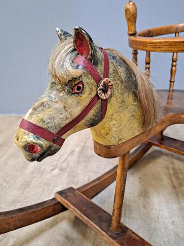 19th Century Childs Rocking Horse (1 of 5)