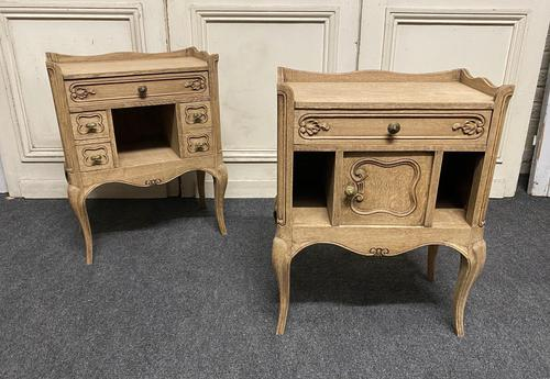 Pair of Bleached Oak Bedside Cabinets (1 of 15)