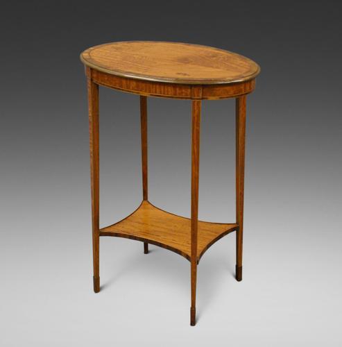 Elegant Satinwood Occasional Table (1 of 5)