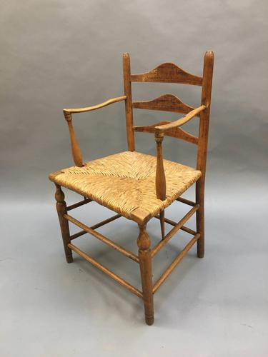 Early 19th Century Country Chair, stamped (1 of 10)