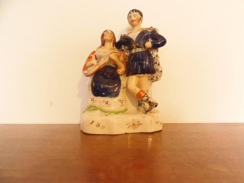 Staffordshire Figure of a Couple (1 of 6)