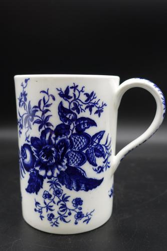 Attractive Late 18th Century Caughley Pint Tankard (1 of 5)