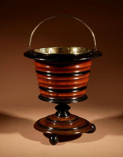 A Dutch Coopered Tea Stove Bucket/ Peat Bucket / Jardinière (1 of 8)