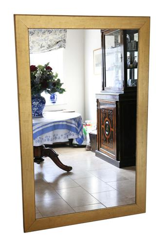 Very Large Gilt Late 19th Century Giltwood Overmantle or Wall Mirror (1 of 8)