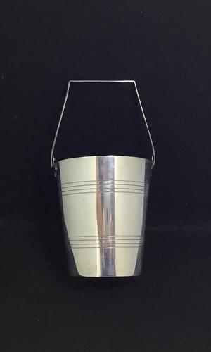 Famous Harrods of London Art Deco Silver Plated Ice / Wine / Champagne Bucket (1 of 6)