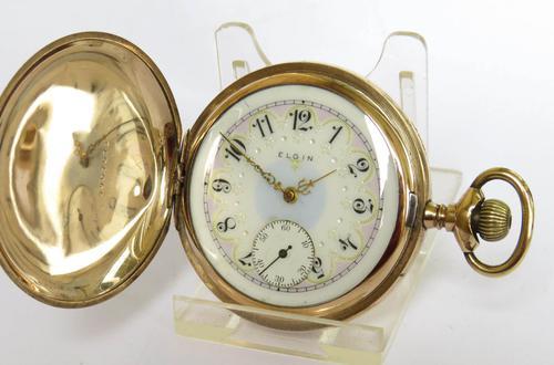 Antique Elgin Full Hunter Pocket Watch 1907 (1 of 5)