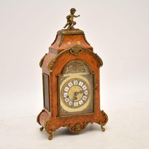 Antique French Style Kingwood Mantel Clock (1 of 11)