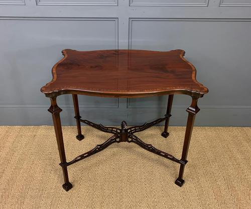 Chippendale Style Mahogany Occasional Table (1 of 10)