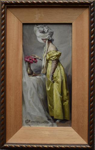 Alexandre-François BONNARDEL (1867-1942) Belle Époque Oil Painting (1 of 8)