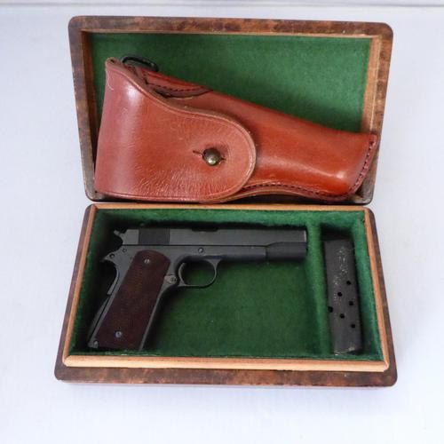 Miniart Colt 1911- A Half Size Cased Miniature Pistol-Collector's Item (1 of 5)