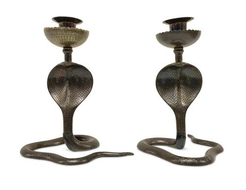 Cobra Candlesticks (1 of 4)