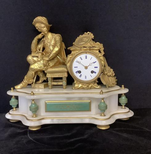 Clock French Mantle (1 of 8)