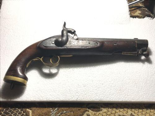 Percussion pistol Enfield 1855 (1 of 1)