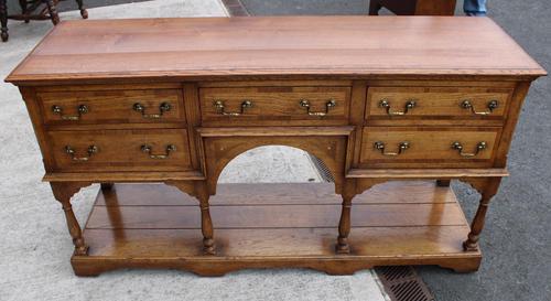 1960s Golden Oak Potboard Dresser Base - Variety of Uses (1 of 5)
