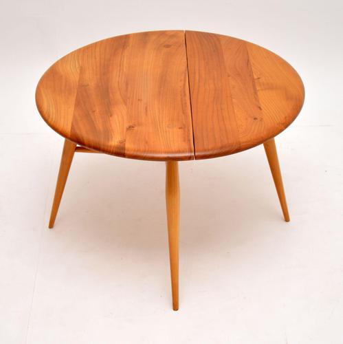 Vintage Ercol Drop Leaf Coffee Table in Elm (1 of 7)