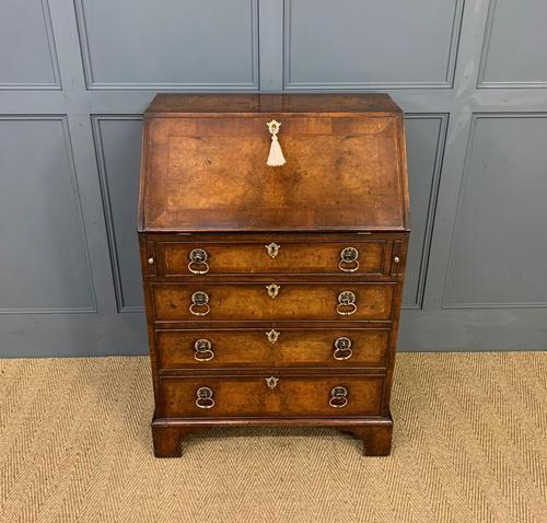 Georgian Style Burr Walnut Bureau (1 of 16)