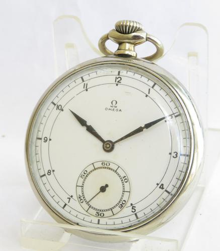 Vintage 1930s Omega Pocket Watch (1 of 4)