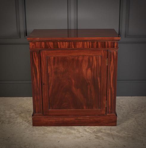 Figured Mahogany Side Cabinet (1 of 10)