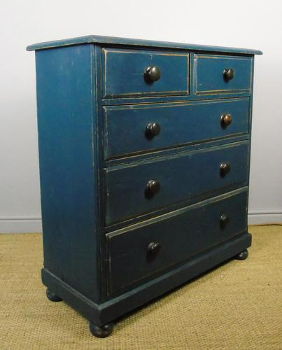 Charming Victorian Painted Chest of Drawers 19th Century (1 of 6)