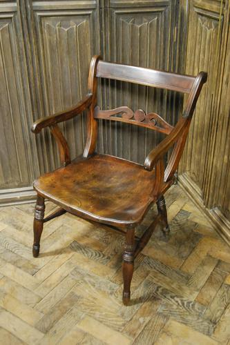 Antique Windsor Armchair (1 of 4)